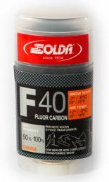 Solda F40 CARBON Stick Orange +2...-9°C, 35g
