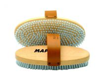 Maplus Hard nylon flat brush, oval