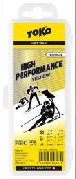 TOKO High Performance Hot Wax yellow +10°...-4°C, 120g