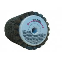 Ski-Go Steel Roto brush, 100 mm