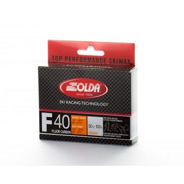 Solda F40 CARBON Extra Fluor Glider Orange +2...-9°C, 60g