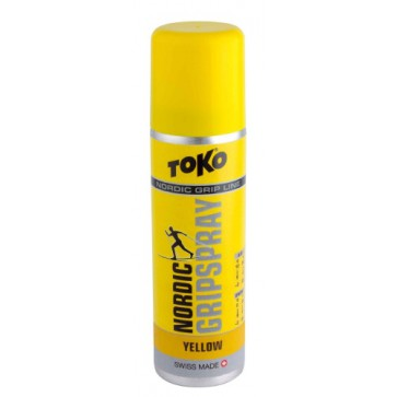 TOKO Nordic GripSpray Yellow 0°...-2°C, 70 ml