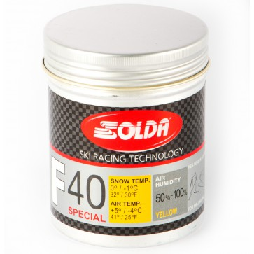 Solda F40 SPECIAL Powder Yellow  +5...-4°C, 30g