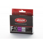 Solda F40 CARBON Extra Fluor Glider Violet -4...-14°C, 60g