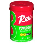 Rex 81 PowerGrip Fluoro wax Green -8...-20°C, 45g
