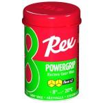 Rex 81 PowerGrip Fluoro wax Green -8...-20°C, 45g