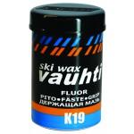 Vauhti GF393 Fluoro Grip wax K19 -3°...-10°C, 45g