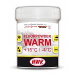 HWK Fluorpowder Warm +15...-4°C, 15g