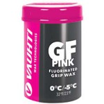 Vauhti GF Pink (new snow) Fluoro Grip wax 0°...-5°C, 45g