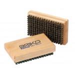 Briko-Maplus Hard horsehair flat brush