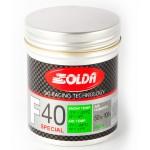 Solda F40 SPECIAL Powder Green -7...-24°C, 30g