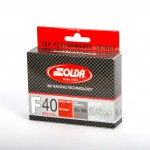 Solda F40 SPECIAL Extra Fluor Glide Wax Red -3...-10°C, 60g