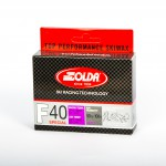 Solda F40 SPECIAL Extra Fluor Glide Wax Violet -4...-14°C, 60g