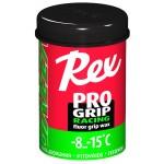 Rex 10 ProGrip Fluoro wax Green -8...-15°C, 45g