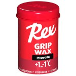 Rex 131 Grip wax Red +1...-1°C, 45g