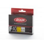 Solda F40 CARBON Extra Fluor Glide Wax Yellow  +5...-4°C, 60g