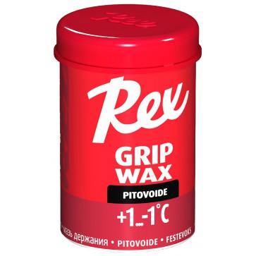 Rex 131 Grip wax Red +1...-1°C, 45g