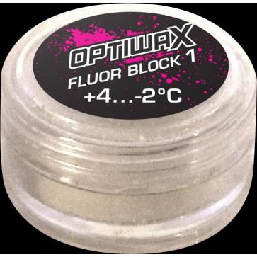 Optiwax  FluorBlock-1 +4...-2°C, 15g