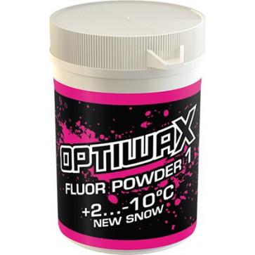 Optiwax  FluorPowder 1 +2...-10°C, 25g