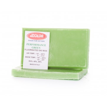 Solda Performance WorldCup Low Fluor Glide Wax Green -7...-24°C, 500g
