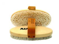 Maplus Soft nylon flat brush, oval
