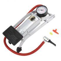 STG Foot Pump with air gauge, auto/bike valve