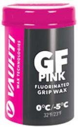 Vauhti GF Pink (new snow) Fluoro Grip wax 0°...-5°C, 45g